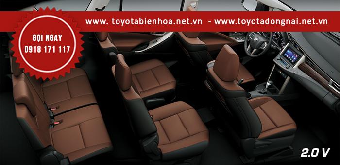 Nội thất xe Toyota Innova