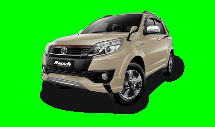 Toyota Rush màu đồng