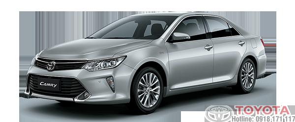 Toyota camry 2018 màu bạc