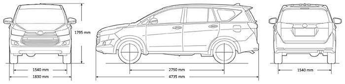 Động cơ, khung xe Toyota Innova