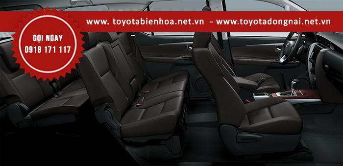 Nội thất xe Toyota Fortuner