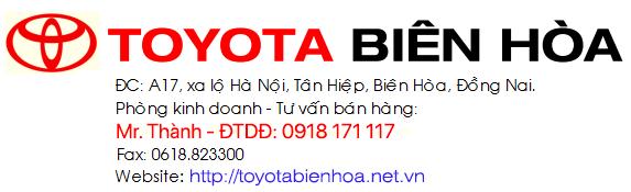 Liên hệ Toyota Biên Hòa