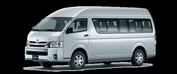 Toyota Hiace bạc