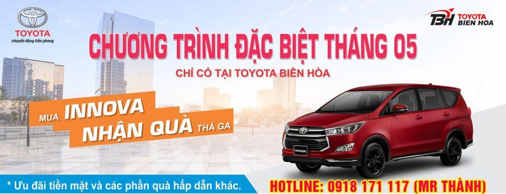 khuyến mãi Toyota Tháng 05/2020