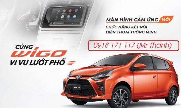 Khuyến mãi mua xe Toyota Wigo mới nhất