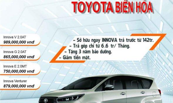 Khuyến mãi xe Toyota Innova
