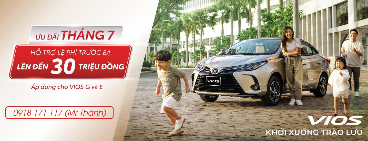 Khuyến mãi Toyota Vios